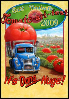 Bustin' Ripe Tomatoes at the Tomato Art Fest