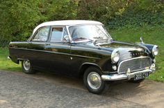 1st car i ever owned,was a black MK11 Ford Consul like this one.