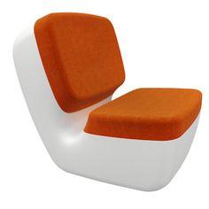 marc newson: #orange nimrod #chair