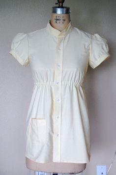 ebab95fc Refashion 17: Sunny Empire Waist Shirt from Men's Dress Sh… | Flickr  Recycled Mens
