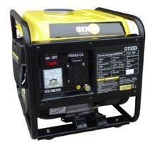 Genyx G1500I Groupe électrogène de chantier inverter puissance nominale/maximale 1100 W/1300 W