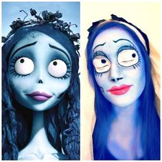 Emily the Corpse Bride Halloween Makeup Ideas for Women, Men and Kids