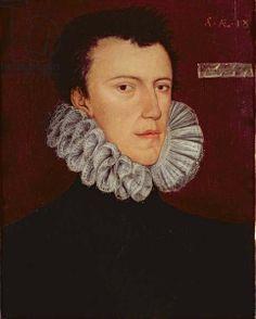 Portrait of Philip Howard, Earl of Arundel, aged 18. By George Gower, c. 1575.