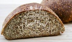 Chia-Brot Low Carb Rezept - Ein kohlenhydratfreies Brot Chia Bread Low Carb - the Super Food Chia seeds processed in a great fragrant… Carb Free Bread, Low Carb Bread, Breakfast Snacks, Low Carb Breakfast, Low Carb Recipes, Snack Recipes, Sugar Free Baking, Low Carb Vegetables, Healthy Baking