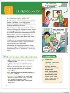 """Unidad 3 de Ciencias de la Naturaleza de 6º de Primaria: """"La reproducción"""""""
