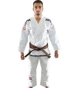 Atama Mundial Model #9 - White Brazilian Jiu Jitsu Judo Kimono IBJJF Approved