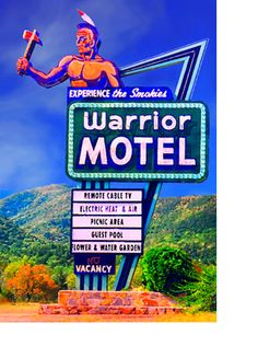 Warrior Motel  Bryson City, NC..my grandmother owned this for years! Where I grew up!