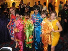 omg...I love The Beatles' Sgt Pepper costumes!