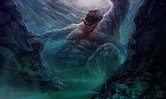 Tsathoggua Rising by TentaclesandTeeth | Digital Art / Drawings & Paintings / Macabre & Horror | Lovecraftian / Creature