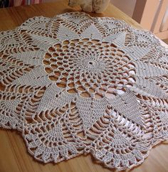 Hand crafted to your exact requirements. Item listed above is the examples of the skills and techniques I possess. Crochet Dollies, Crochet Doily Patterns, Crochet Diagram, Thread Crochet, Crochet Ripple Blanket, Crochet Cushions, Crochet Tablecloth, Crochet Home, Crochet Crafts