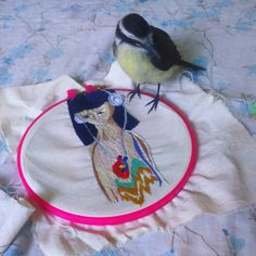 embroidery art, embroidery hoop,  #handembroidery