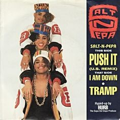 Salt N Pepa - Push It | SimplyEighties.com Hip Hop And R&b, Hip Hop Rap, Salt N Pepa, You Really Got Me, Debbie Gibson, Vides, Twist And Shout, Chill Outfits, 80s Music
