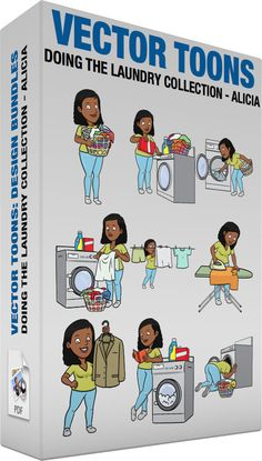 Doing The Laundry Collection Alicia #adult #beamish #blackwoman #bleach #cheerful #chemical #clean #cleaned #clothes #clothing #coat #dressjacket #dryclean #drycleaning #fabric #fabricconditioner #facialexpression #facialgesture #female #femaleperson #garment #grin #grinning #grownup #hanger #happy #individual #jacket #laundromat #laundry #laundrybasket #laundryhamper #leggings #pants #person #scrub #shirt #single #smile #smiling #smirk #tidy #twinkly #wash #washables #washing #woman #vector…