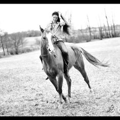 Spring photo shoot with my horse. Equine photography