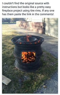 Would be good to add a grill on top to grill over. And could put a pot/pan to cook on top as well. Cool up cycling.