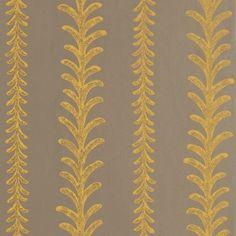 Behang Cantal in Bruingrijs