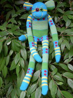 Extra long Sock Monkey :)