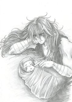 Yona of the Dawn fan art | Shin | This is really cute