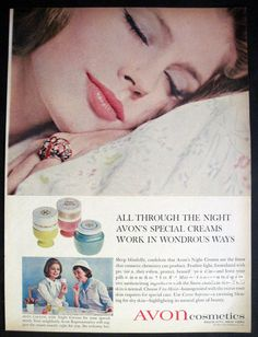 Sleeping Beauty image vintage Avon Glamour by VintageAllianceAds