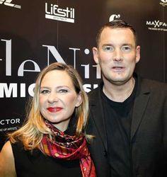 Annette Roeckl mit Michael Michalsky