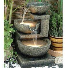 Alfresco Home Rocca Resin Fountain for sale!