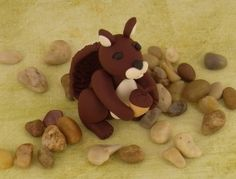 Sculpey III Autumn Squirrel | Polyform Products Company