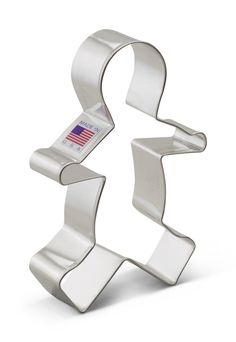 Ann Clark Gingerbread Man Cookie Cutter - 5 Inches - Tin Plated Steel *** Huge discounts available now! : Baking Accessories