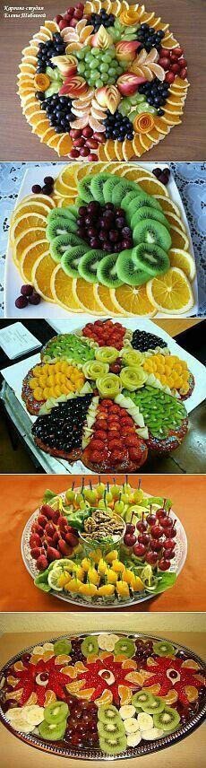 New Fruit Platter Designs Beautiful Ideas Fruit Decorations, Food Decoration, Food Design, Design Ideas, Design Design, Fruit Platter Designs, Platter Ideas, New Fruit, Kids Fruit
