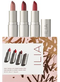 Ilia Mini Tinted Lip Conditioner Trio