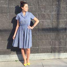 A Retro-Inspired Dress