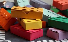 how to make lego valentine treat boxes with a Silhouette Cameo