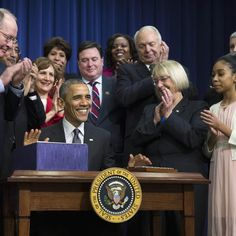 Obama Signs Education Law Rewrite; Power Shift to States