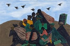 The images in Jacob Lawrence's Migration Series are perhaps the most recognizable images of African-Americans in the 20th century.