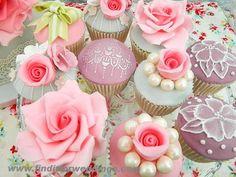 Wedding cupcakes    www.finditforweddings.com