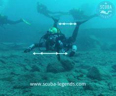 Buoyancy Sessions 4 – Improve your trim - Scuba Legends Dive Center Lanzarote Scuba Diving Courses, Scuba Diving Equipment, Scuba Bcd, Diving Lessons, Diving Regulator, Scuba Diving Gear, Sea Diving, Diving Suit, Cave Diving