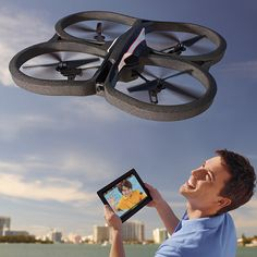 Was searching the Internet for Cyber Monday gadgets and found this fun App-Controlled Quadricopter from Brookstone. Who wouldn't want this bad boy?    What finds have you discovered this Cyber Monday?