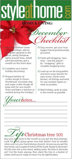 Alas, December is upon us!  And yes, you still have a to-do list to keep your home in good working order!   #honeydolist #decemberhomechecklist #norestfortheweary