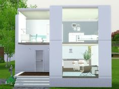Modern Starter Home 3 - http://www.thesimsresource.com/downloads/details/category/sims3-lots-residential/title/modern-starter-home-number-3/id/1241159/