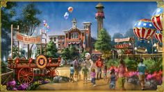 Little kids love theme parks, too! Here are the best new theme park attractions for the crowd. Silver Dollar City, Branson Shows, Branson Missouri, Disney Concept Art, Parking Design, New Theme, Family Adventure, Disney Parks, Vacation Spots