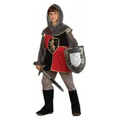 Deluxe Knight of the Realm - Kids Costume - from A2Z Kids UK