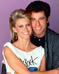 GREASE on Pinterest | John Travolta, Olivia Newton John ...