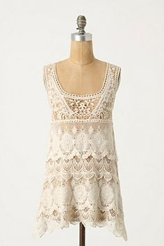 Anthropologie Ivory Tower Tank @Stephanie Vercoe.  I know how much you love Anthropologie!