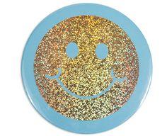 Smiley Face Pocket Mirror