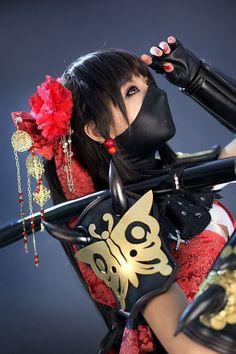 Ninja cosplay
