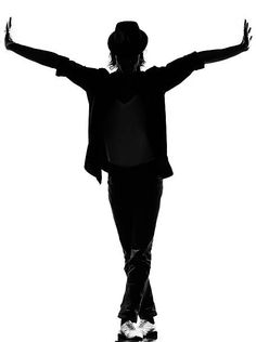 Resultado de imagen para black or white michael jackson en negro