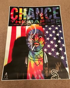 Chance The Rapper Reaction New Year's Eve 2015 | Posterogs Database Chance The Rapper, Concert Posters, New Years Eve, Music Bands, Artist, Design, Artists, Bands