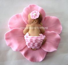 fondant flowers | Fondant baby | Fondant Figures and Flowers
