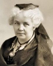 Women's Rights Activist Elizabeth Cady Stanton