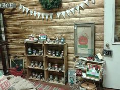Our barn sale displays
