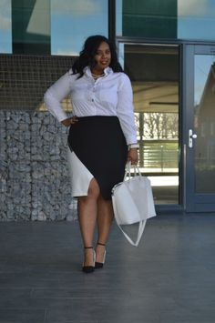 Supersize my Fashion: Corporate Black and White